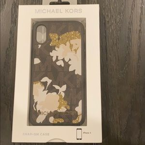 iPhone X Michael Kors case